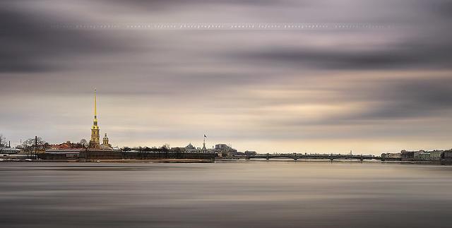 Reflection on the Neva River #4 ~ St-Petersburg,Санкт-Петербург / Russia ~