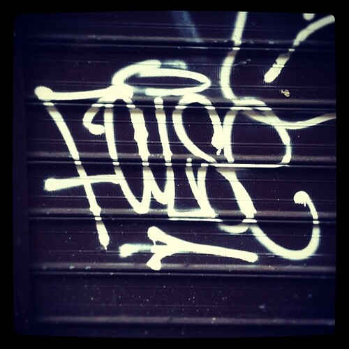 More mad hand styles #false #nyc #graffiti #tag #igersmelbourne by Lukey's photos