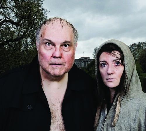 MIke McShane and Suki Webster in McShane's Mon Droit.