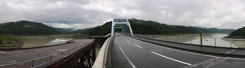 Bridge over Lake Katsurazawa (Hokkaido, Japan)