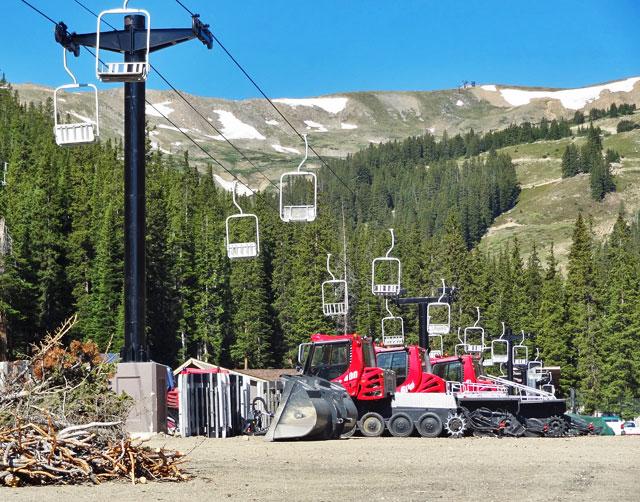 empty-ski-lift gondola keystone colorado