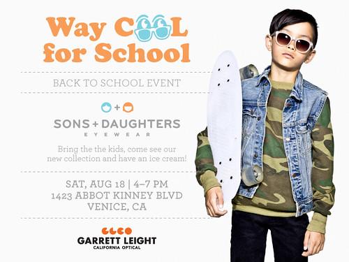 Garrett Leight / A. Kinney Court Sale