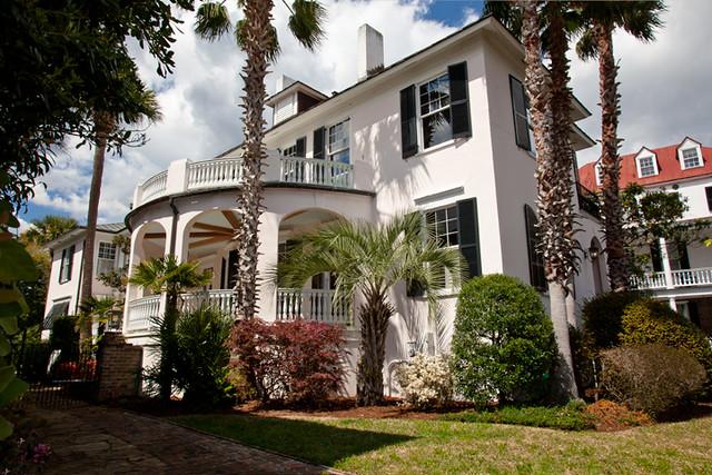 Charleston sc south carolina rainbow row historic houses 8 for Charleston row houses