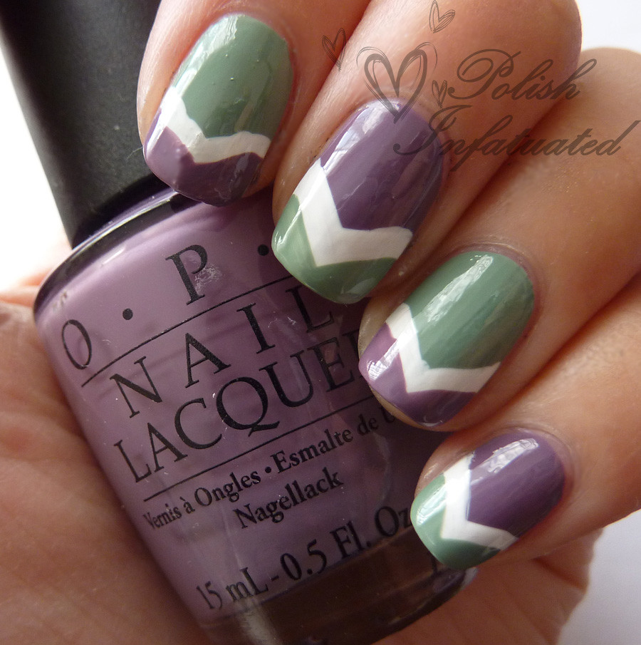 green, white & purple chevron1