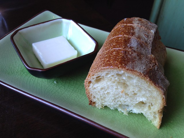 Bread and butter - Eureka Restaurant and Lounge