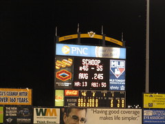 Bowie Baysox vs. Trenton Thunder - August 18, 2012