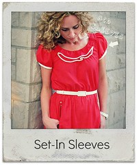 How to add setin sleeves