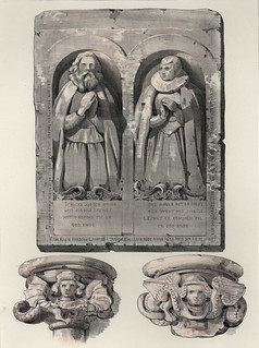 Gravmonument og kapitéler ved Trondhjems Domkirke (1838)