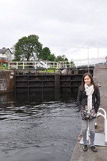 Fort Augustus Locks at Caledonian Canal