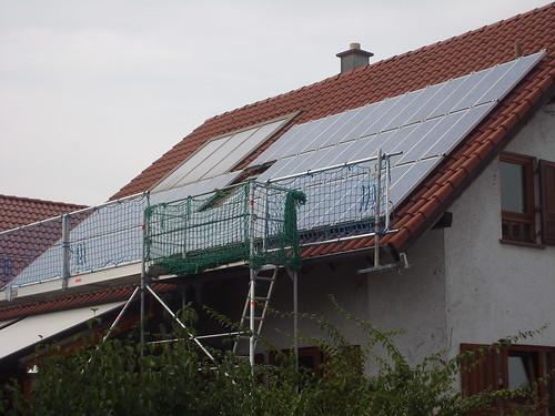 Photovoltaikanlage vor dem Repowering
