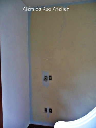 Pintura do quarto - antes e depois