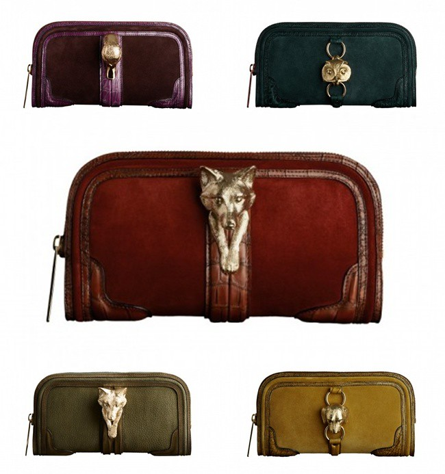 3 suede clutch