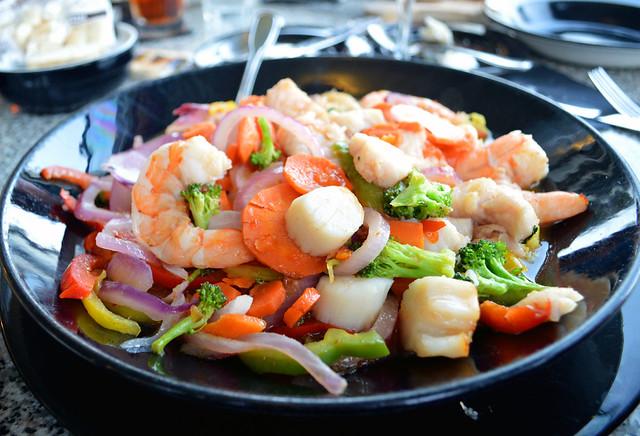 Seafood Stir Fry
