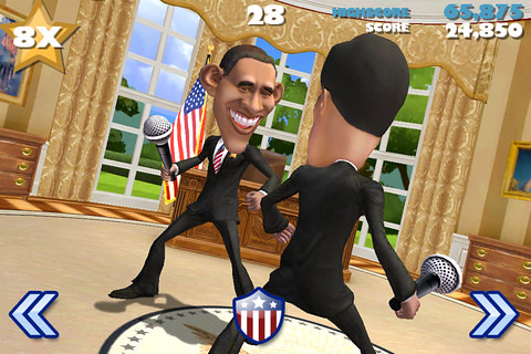 Vote Lets You Decide Who the Best Candidate is...With Punches