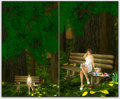 Fabulously Free in SL - Furnishings Friday #12 - The Strawberry Box