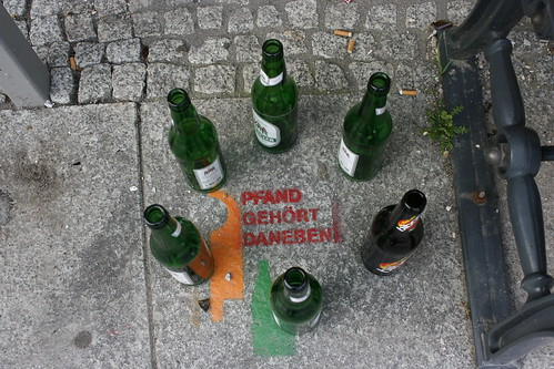 Kulturkonditorei: Pfand gehört daneben