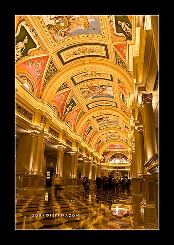 Renaissance paintings inside the Venetian Macau