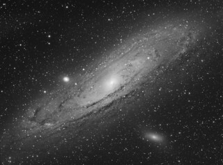 "M31 Andromeda Galaxy ""luminance"""