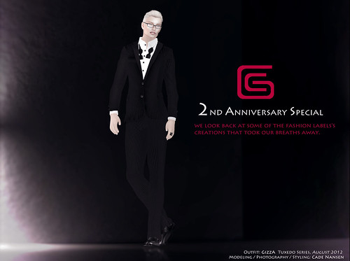 L'HOMME Aug/Sept 2012 - GizzA 2nd Anniversary Special