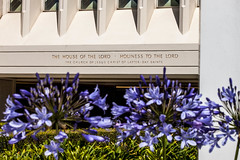 San Diego California LDS (Mormon) Temple   entrance lds temple photo