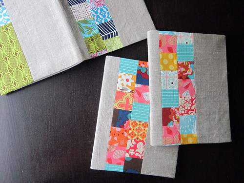 Linen + Squares journal covers