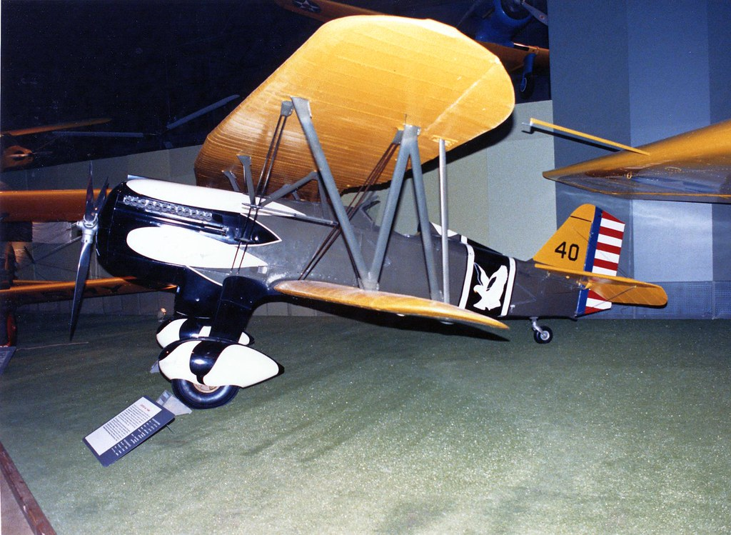 Curtiss P-6E US Air Force Museum, Wright Patterson Field, Dayton Ohio