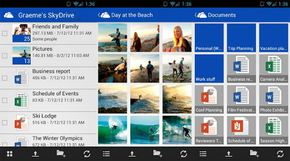 SkyDrive_Android_app