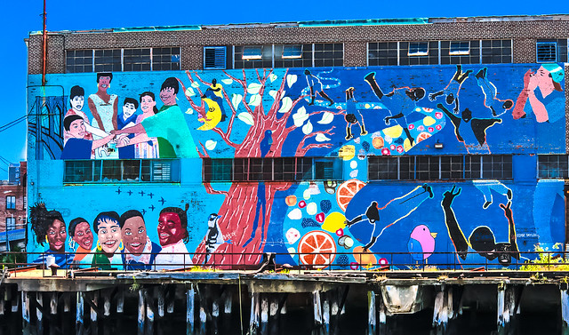 Red Hook mural @ Dr Pepper Snapple Group
