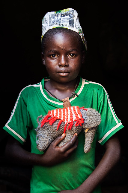 """Amadou, Herder, Central African Republic.<br /> <br /> &quot;One day I will be a herder like my father used to be.""""<br /> <br /> Photo by Vincent Tremeau, 2014"""