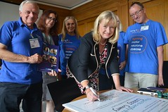 Surrey County council adopt MND charter;
