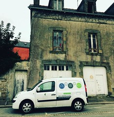 sail trade warehouse in douardenez france -- full of organic wine #sailtransport #sailcargo #sailfreight talk to guillome about your shipping needs