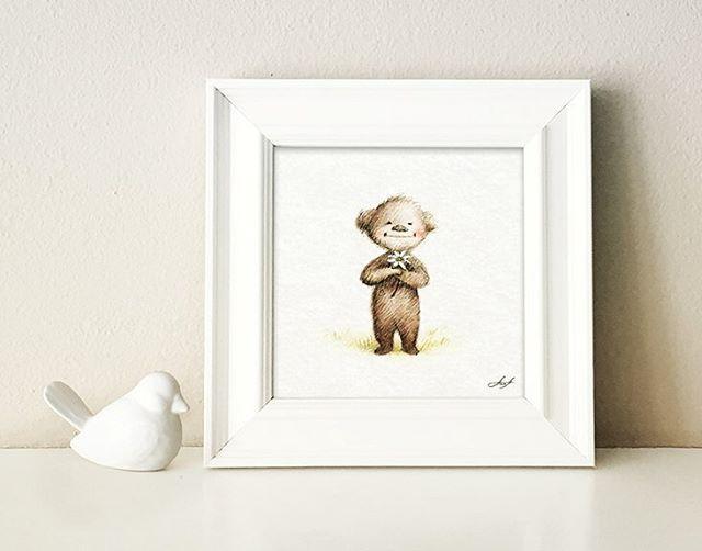 Cute Teddy Bear #teddybear #drawing #childrenillustration #pencildrawing #nursery #nurserydecor #cute #animals #babybear #handdrawing #nurseryart #greetings #greetingcard #babyshower #congratulations