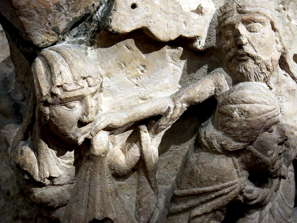 Descendimiento (capitel románico)