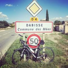 half-way point. #wilier #velo #cycling #elemnt #alpesdehauteprovence - Photo of Puimichel