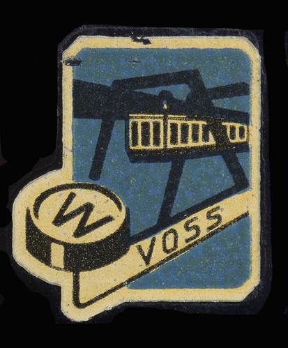 Voss typewriter logo