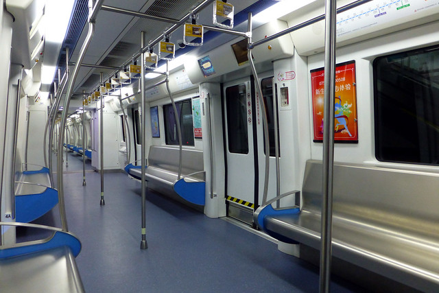 Longgan line metro train carriage shenzhen china flickr photo sharing - Carrage metro ...