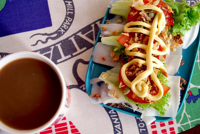 Genius Sandwich and Morning Coffee