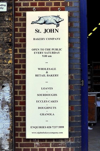 St. John Bakery - London