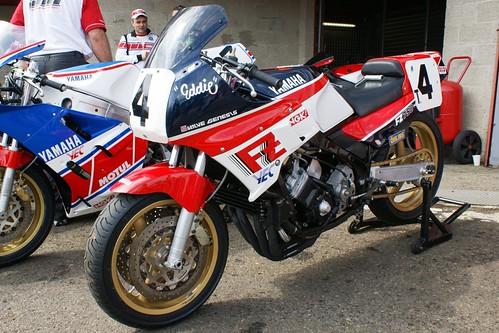 Yamaha FZ750, Eddie Lawson replica (#1st, Daytona 1986)