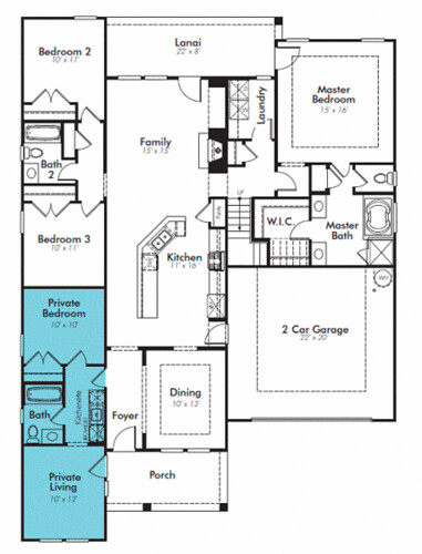 Lennar NextGen Home Plan