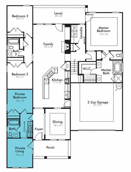 Lennar NextGen Home Plan | National builder Lennar Homes