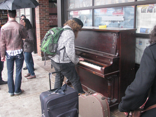 Piano in the Market - Dwight Williams