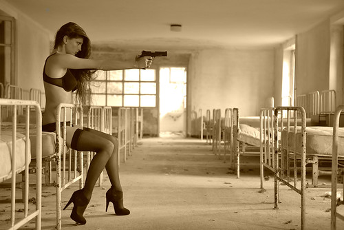 Girls, Guns, Abandoned Buildings.
