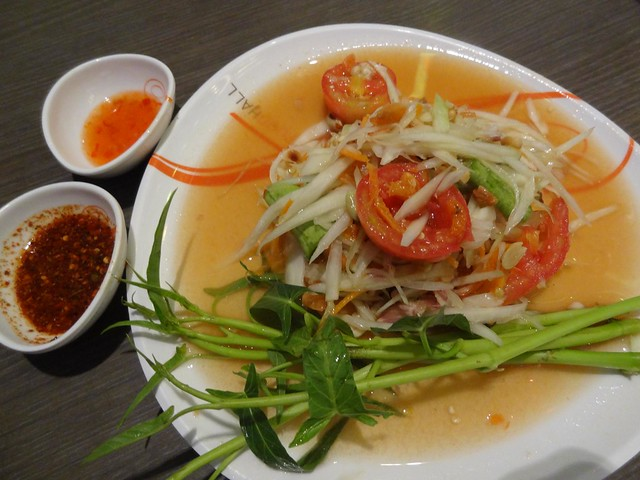 Papaya Salad in Thailand