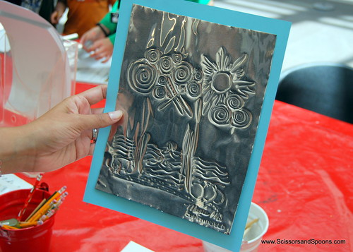 Embossed Metal Drawing