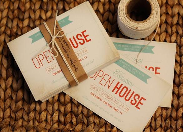 Christmas Open House Invitation