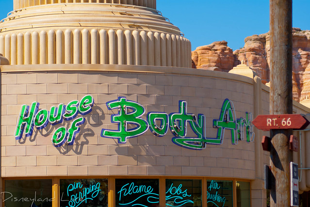 House of Body Art - Cars Land