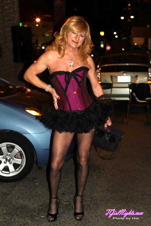 Crossdress transvestite t-girl tgirl
