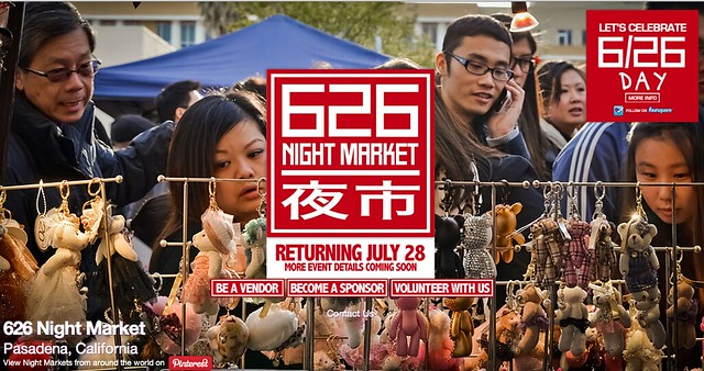 626 Night Market, Pasadena, Ca