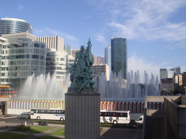"""the statue of """"La Défense de Paris"""""""